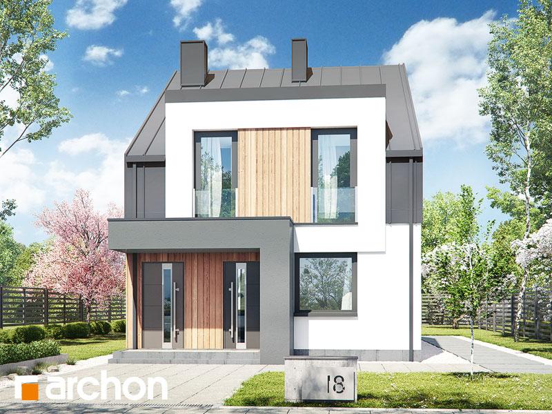 gotowy projekt Dom w bratkach 7 (R2) widok 2