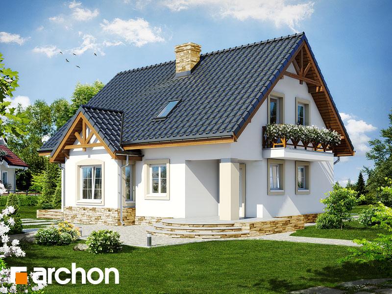gotowy projekt Dom w mandarynkach (P) widok 1