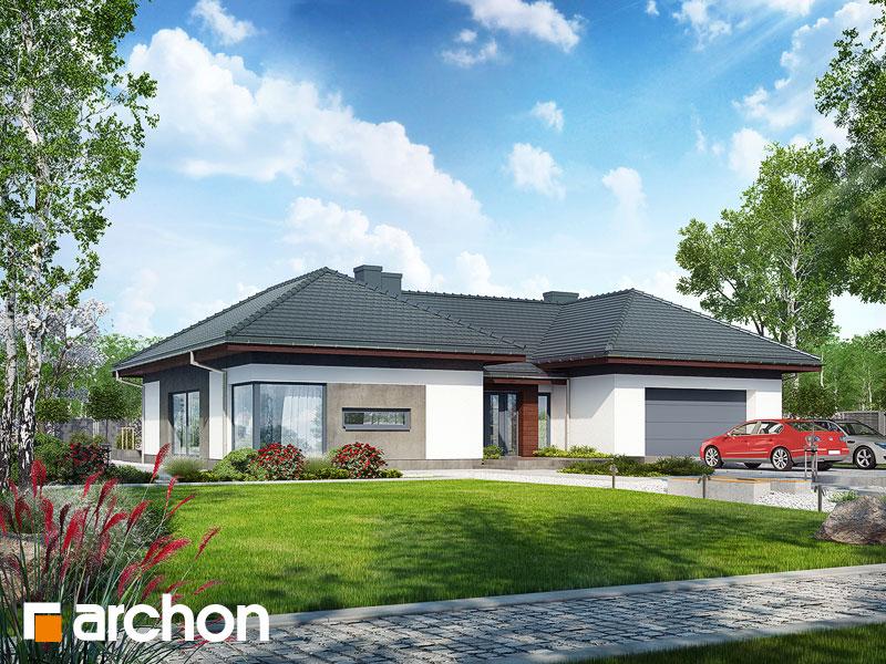gotowy projekt Dom w kliwiach (G2) widok 1
