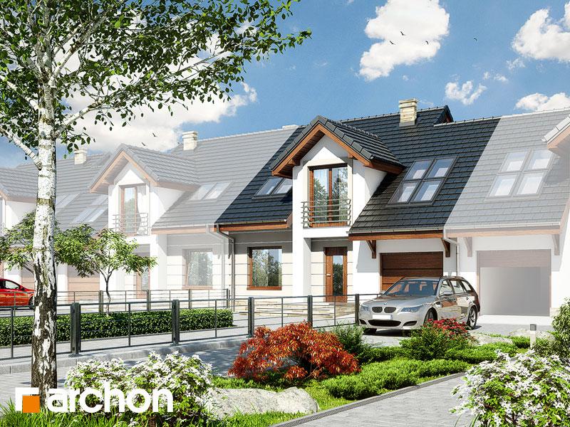 gotowy projekt Dom w rabarbarze (S) widok 1