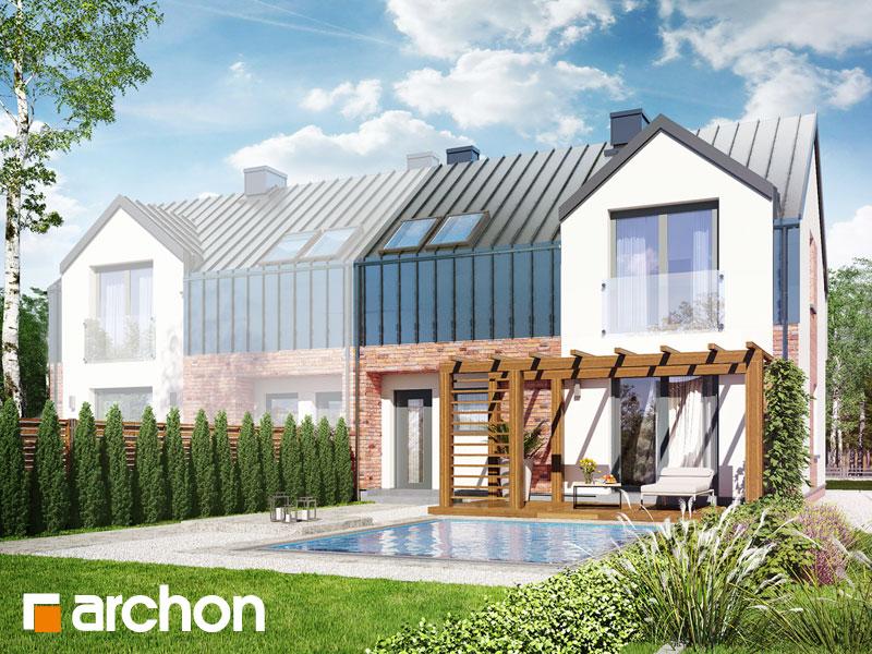 gotowy projekt Dom w gunnerach (BA) widok 1