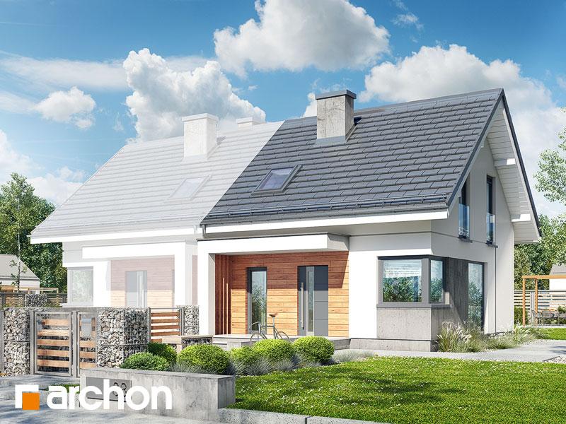 gotowy projekt Dom w borówkach (BN) widok 1