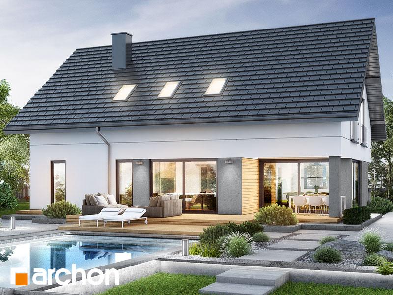 gotowy projekt Dom w alstromeriach (GE) widok 1