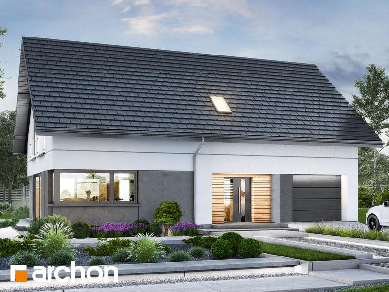 gotowy projekt Dom w alstromeriach (GE) widok 2