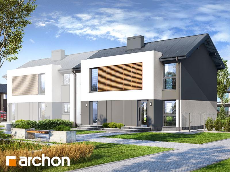 gotowy projekt Dom w tawlinach (R2B) widok 1