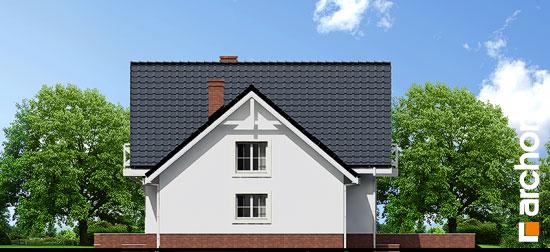 Elewacja boczna projekt dom w rododendronach 5 p ver 2  265