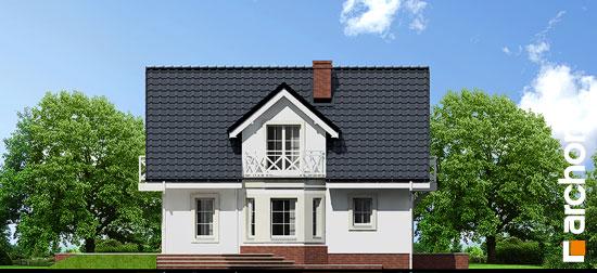 Elewacja boczna projekt dom w rododendronach 5 p ver 2  266