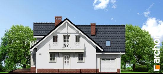 Elewacja frontowa projekt dom w rododendronach 5 p ver 2  264