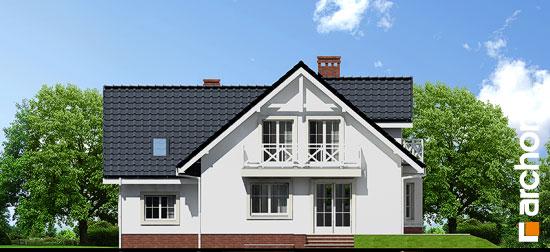 Elewacja ogrodowa projekt dom w rododendronach 5 p ver 2  267