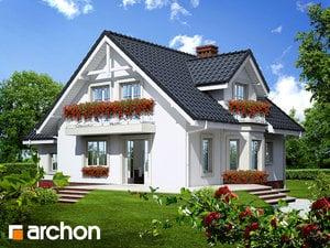 projekt Dom w rododendronach 5 (P) widok 2
