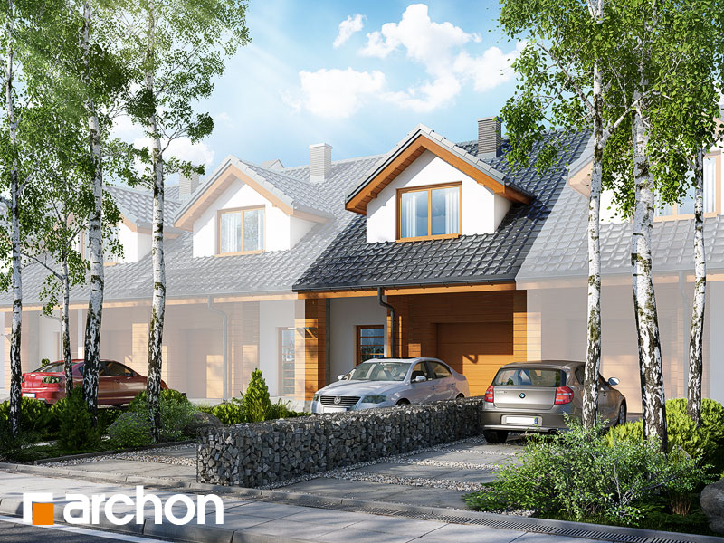gotowy projekt Dom pod miłorzębem 6 (GS) widok 1