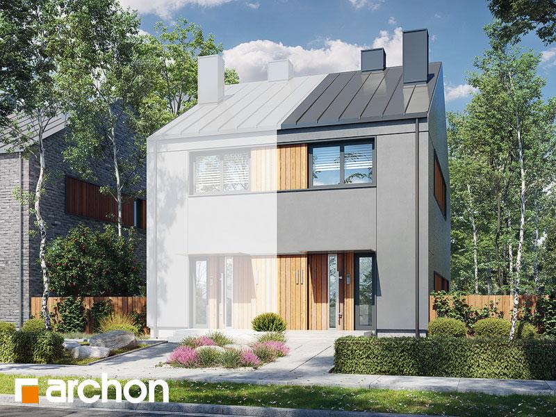 gotowy projekt Dom w reo (B) widok 1