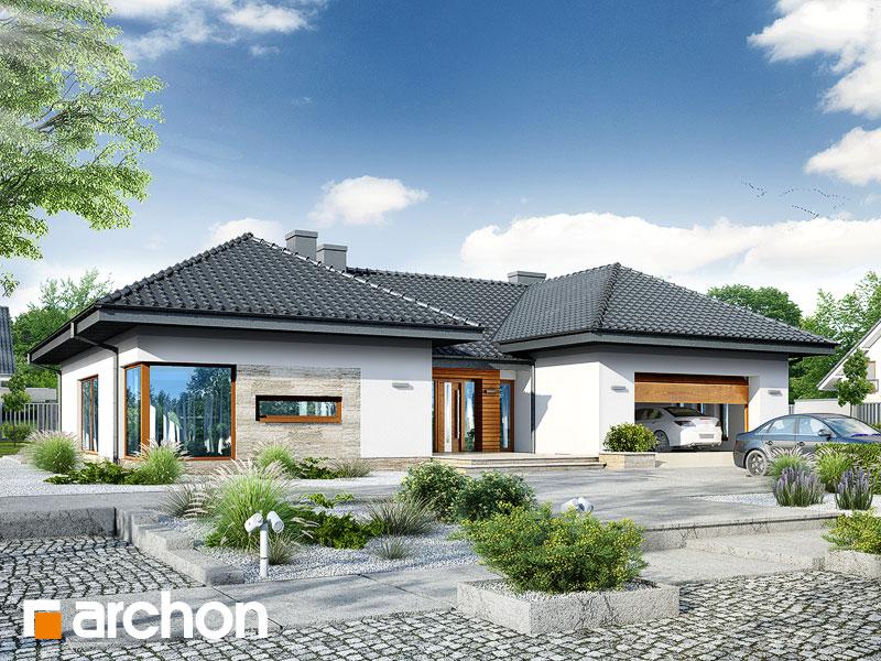 gotowy projekt Dom w kliwiach 2 (G2) widok 1