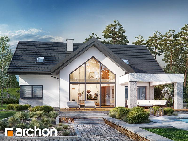 59a60773292ed7 Projekt domu Dom w felicjach (G2) Galeria - ARCHON+
