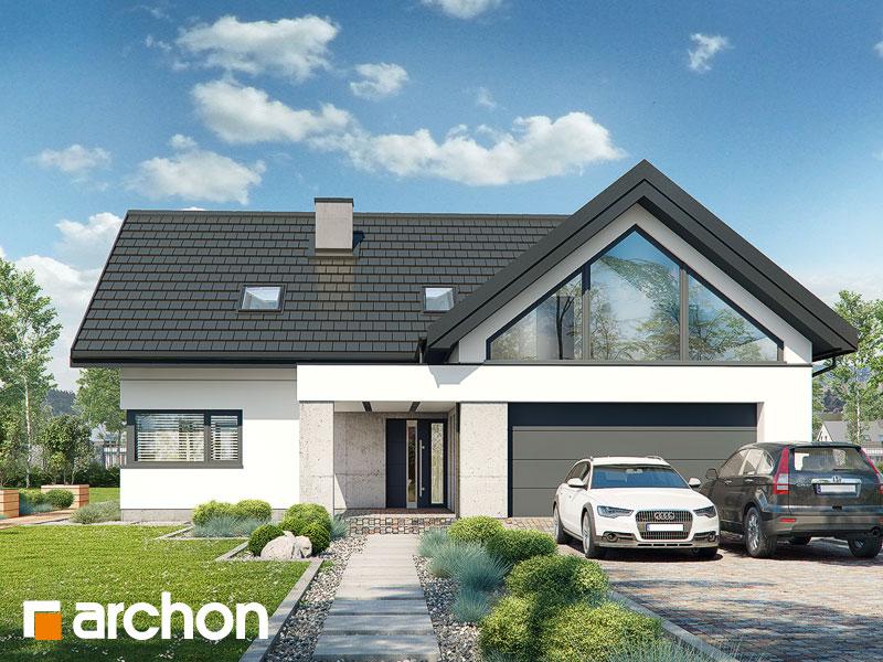 gotowy projekt Dom w felicjach (G2) widok 2