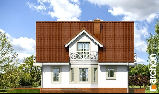 Elewacja boczna projekt dom w rododendronach 5 ver 2  266