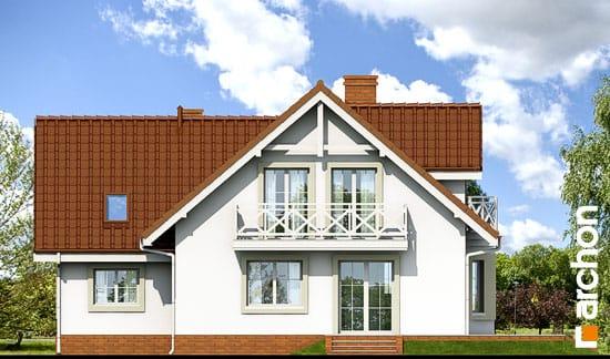 Elewacja ogrodowa projekt dom w rododendronach 5 ver 2  267