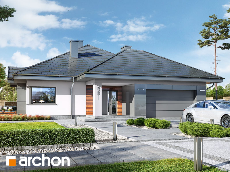 gotowy projekt Dom w jonagoldach 5 (G2PD) widok 1