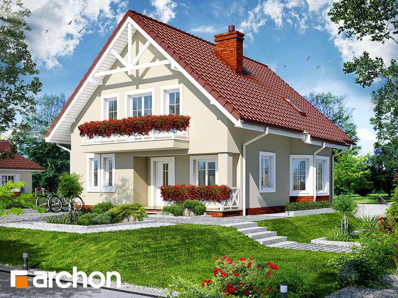 gotowy projekt Dom w nenufarach widok 1