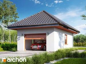 projekt Garaż 1-stanowiskowy G29