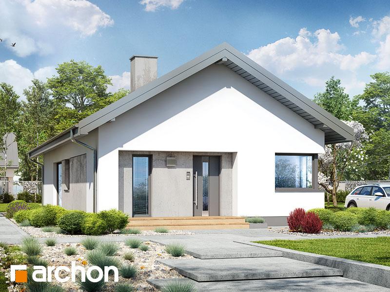 gotowy projekt Dom pod pomarańczą 3 widok 1