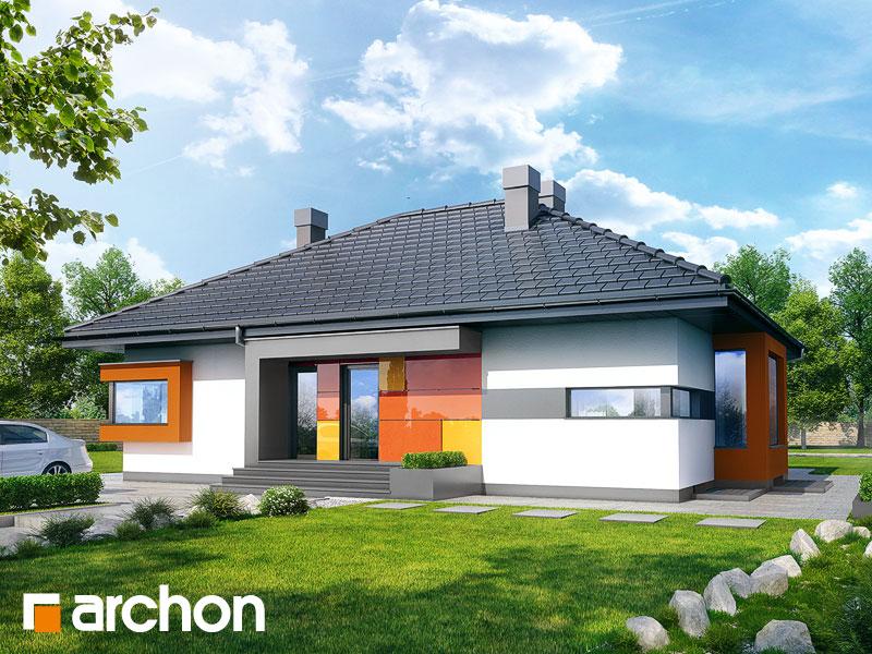 gotowy projekt Dom pod jarząbem (PN) widok 1