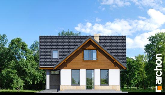 Elewacja boczna projekt dom w mango ver 2  265