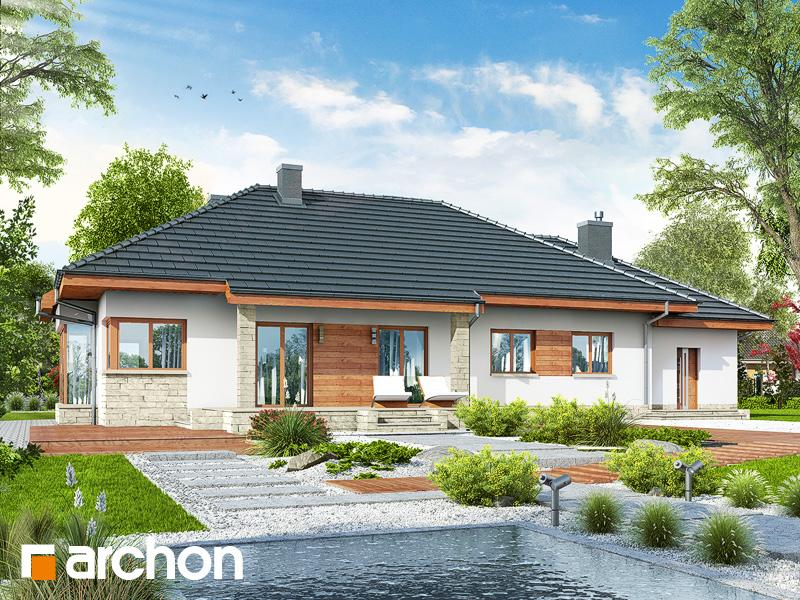 gotowy projekt Dom w gaurach 4 (N) widok 2