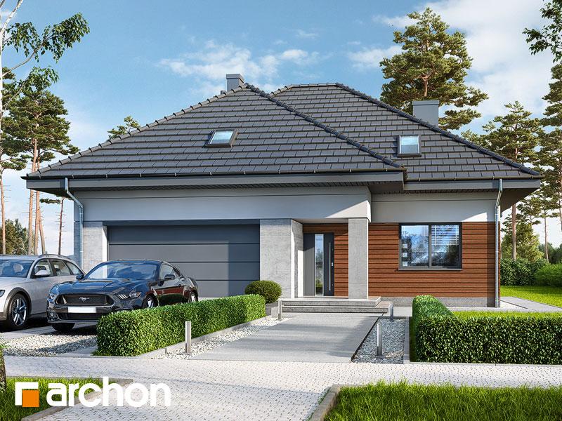gotowy projekt Dom w bzach 2 (G2) widok 1
