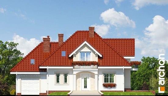 Elewacja frontowa projekt dom w werbenach ver 2  264
