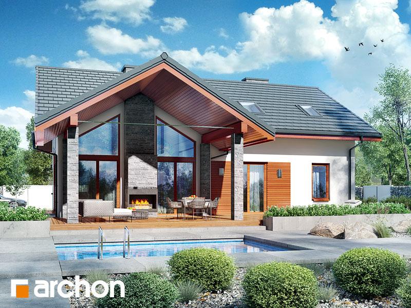 gotowy projekt Dom w pierwiosnkach 2 (G2P) widok 1