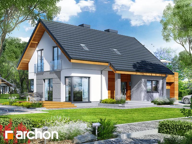 gotowy projekt Dom w żurawkach 6 widok 1