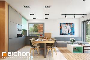 Projekt dom w tunbergiach 4 b  31290 mid