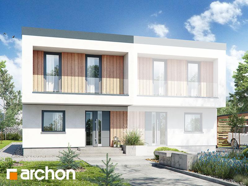 gotowy projekt Dom w tunbergiach 4 (B) widok 1
