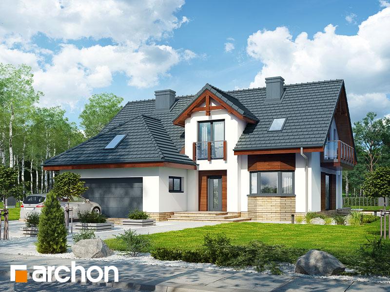 gotowy projekt Dom w kalateach 7 (G2) widok 1