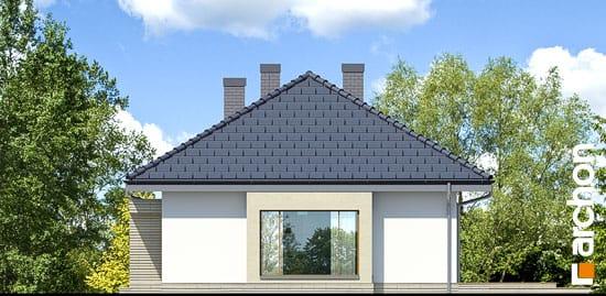 Elewacja boczna projekt dom pod jarzabem 7 ver 2  265