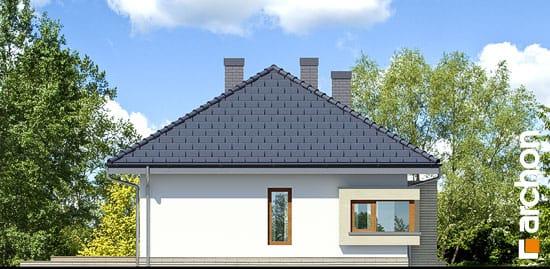 Elewacja boczna projekt dom pod jarzabem 7 ver 2  266