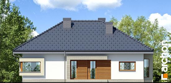Elewacja frontowa projekt dom pod jarzabem 7 ver 2  264