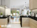 projekt Dom pod jarząbem 7 Wizualizacja kuchni 1 widok 1