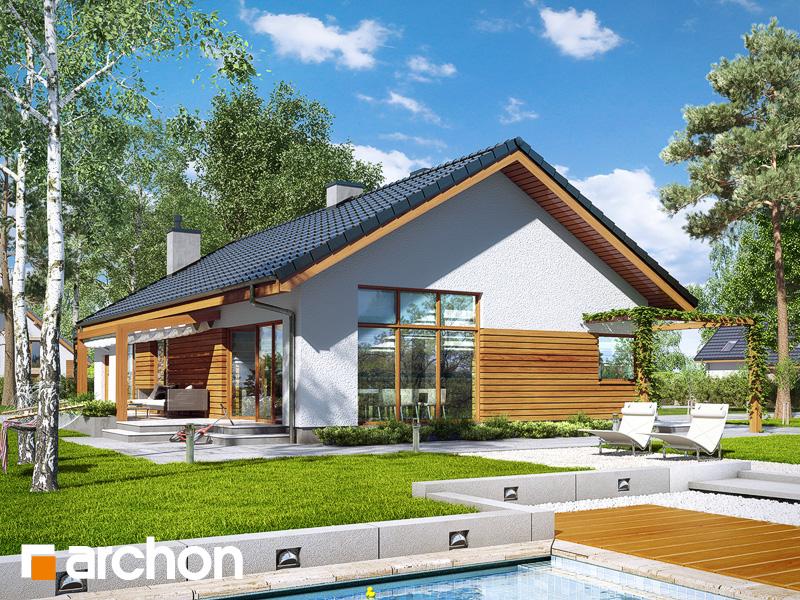 gotowy projekt Dom w mekintoszach 4 (M) widok 2