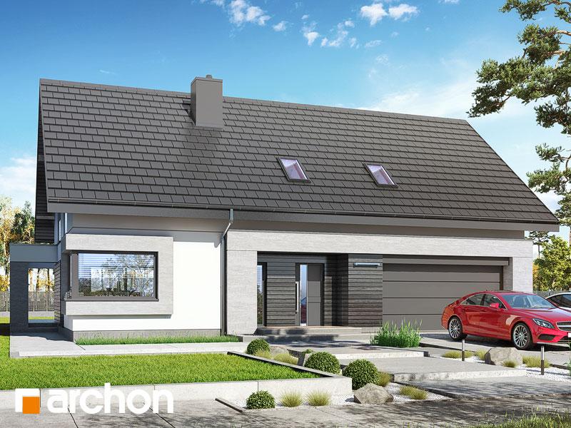 gotowy projekt Dom w goździkowcach (G2A) widok 1