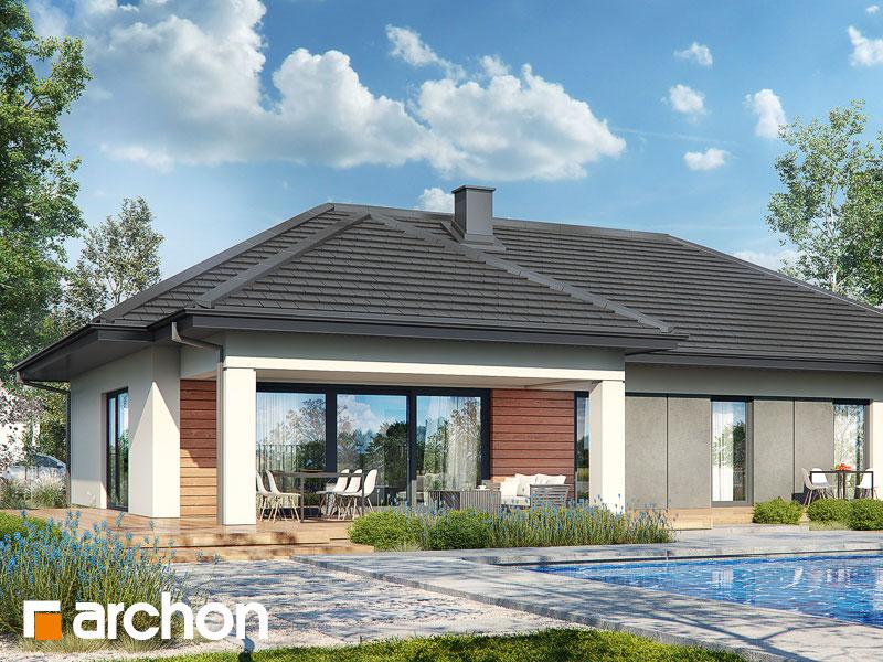 gotowy projekt Dom w berberysach 3 (G2E) widok 2