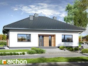 gotowy projekt Dom w santanach