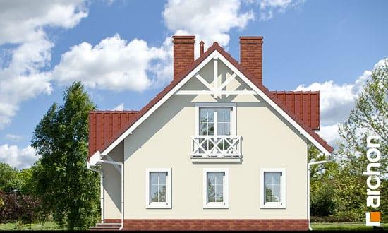 Elewacja boczna projekt dom w groszku ver 2  265