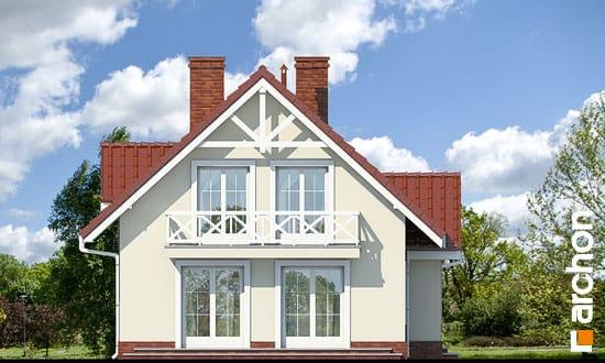 Elewacja boczna projekt dom w groszku ver 2  266