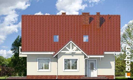 Elewacja frontowa projekt dom w groszku ver 2  264