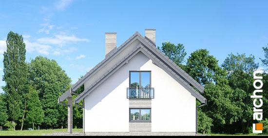 Elewacja boczna projekt dom w malinowkach 3  265