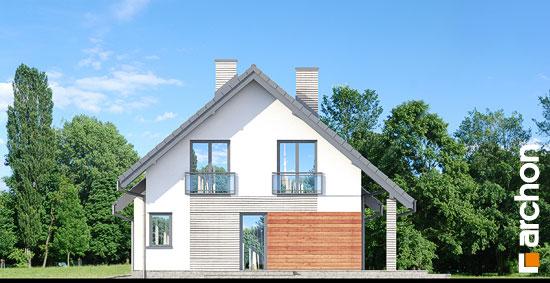 Elewacja boczna projekt dom w malinowkach 3  266