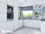 projekt Dom w malinówkach 3 Wizualizacja kuchni 1 widok 1