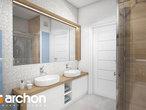 projekt Dom w malinówkach 3 Wizualizacja łazienki (wizualizacja 3 widok 2)